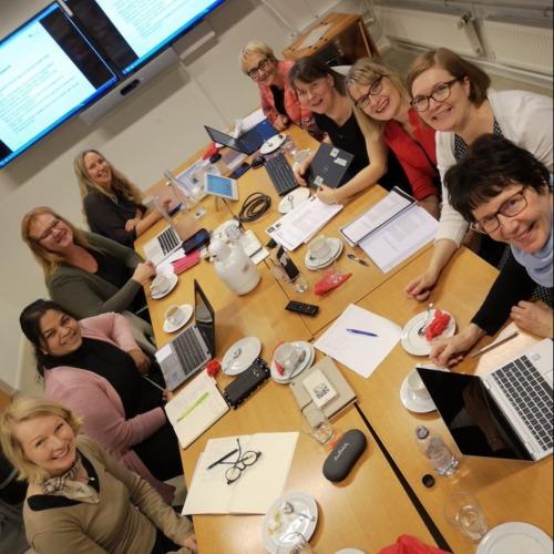 1. kuva tutkimusryhmästä Luottamus organisaatioissa