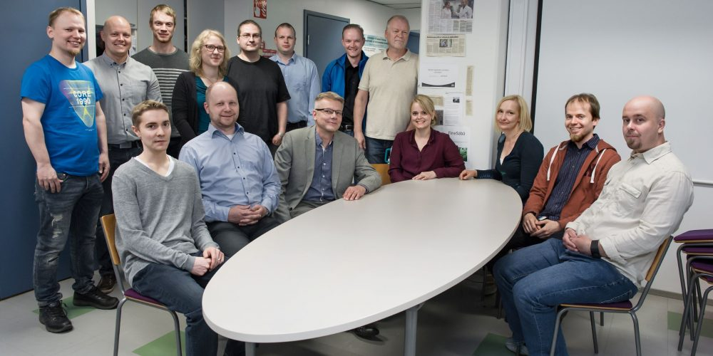 Introducing image of the group Fine particle and aerosol technology laboratory