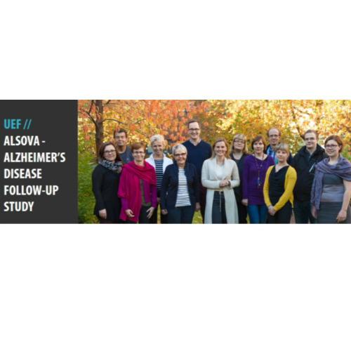 1. kuva tutkimusryhmästä ALSOVA-hanke - Alzheimerin taudin seurantatutkimus