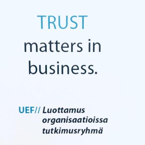 Image of  Luottamus organisaatioissa