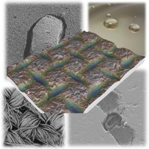 Image of  Pinnoitteiden ja pintakemian kehittäminen teollisiin sovelluskohteisiin