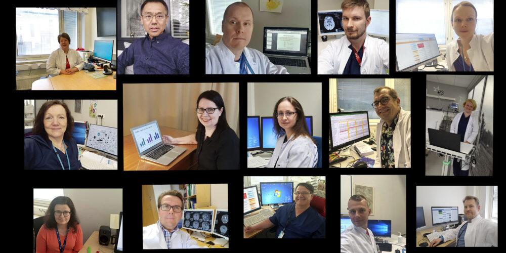 Esittelykuva tutkimusryhmästä Clinical Epilepsy Research