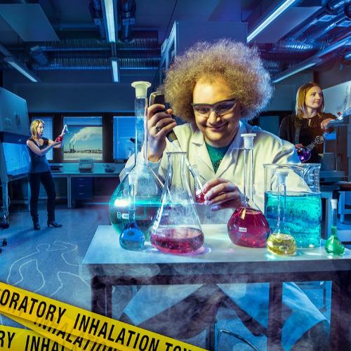Image of  Inhalaatiotoksikologian laboratorio